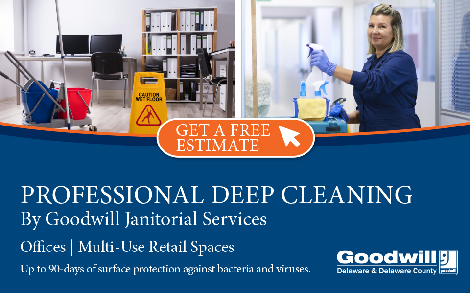 Deep Cleaning Web Banner Janitorial