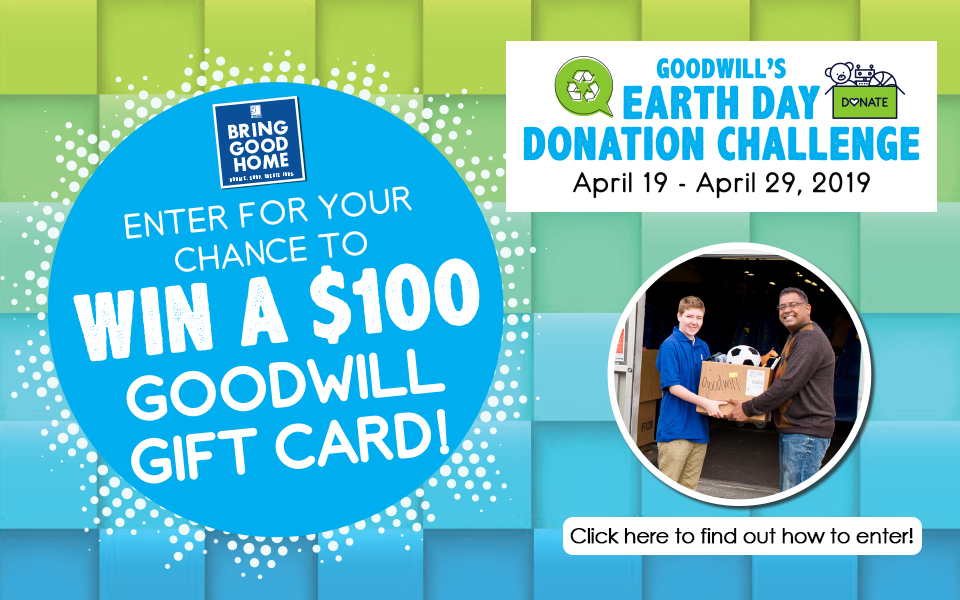 Donation Challenge Earth Day 2019