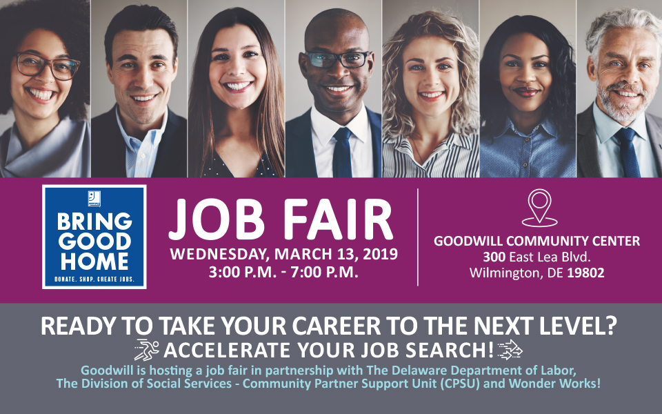 Job Fair March 13. 2019