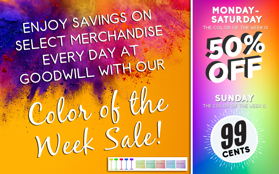 New Color of the Week Sale 2019