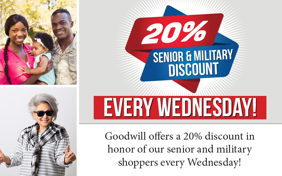 Wednesday Discount 2018